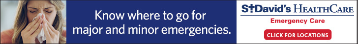 St Davids ER Banner Ad