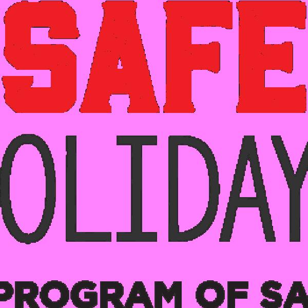 Final safe holiday logo