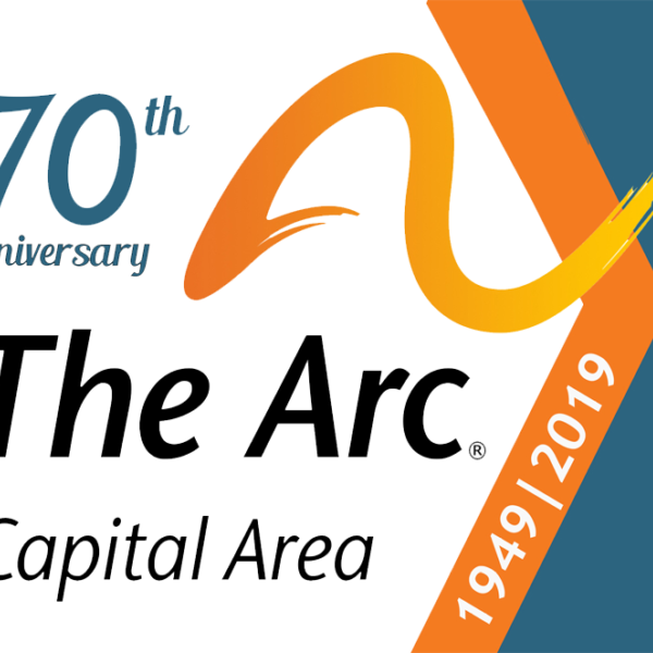 The Arc Logo 70Th Blank Background Color